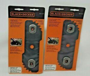 Lot of 2 EB-007 7-1/2 Edge Hog Heavy-Duty Edger Replacement Blade Black & Decker