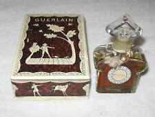 Vintage Guerlain Mitsouko Perfume Bottle/Box 1 OZ Open 3/4 Full Circa 1960's