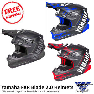 Yamaha Blade 2.0 Vertical Helmet By FXR Motocross Dirt ATV MD, LG, XL, 2X