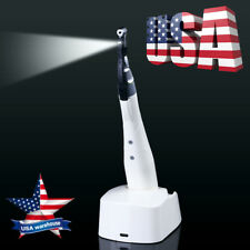 USPS! Dental LED Endo Motor Wireless Root Canal 16:1 Reduction Contra Angle Head
