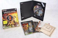 Vanguard - SAGA OF HEROS 2-Disc DVD-ROM PC DVD Game w/ Manual & Poster Map CIB!
