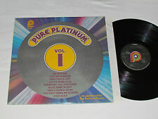 PURE PLATINUM Volume 1 LP 1979 Songs Performed by The Platinum Players PICKWICK