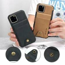 Luxury Leather Card Holder Wallet Back Cover Case For iPhone 11Pro Max XS XR 7 8