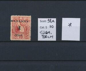 LO44999 Guatemala 1900 inverted overprint classic lot MH cv 10 EUR