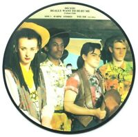 "EX/EX! Culture Club Do You Really Want To Hurt Me 7"" Vinyl 45 Picture Disc"