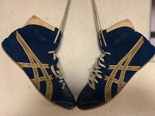 Rare Vintage Asics Dave Schultz Gold Medal Wrestling Shoes Size 11