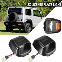 Double Blanc+Rouge LED Feu plaque d'immatriculation Pour Nissan/Suzuki ACMAT ALT