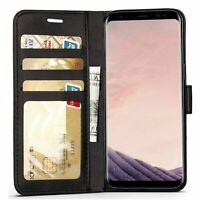 For Samsung Galaxy A30 A20 A40 A50 A70 A80 A90 Case Magnetic Flip Leather Wallet