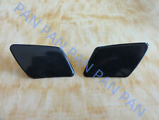 PAIR Headlight Washer Covers Caps Cap For 2005-2007 VOLVO S40 V50