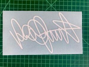 valentino Rossi 46 Signature Stickers Motorcycle Decals Stickers Vinyl Bike #2