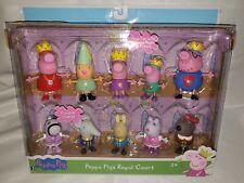 Peppa Pig's Royal Court - Princess Peppa & Friends Set of 10 Figures Jazwares