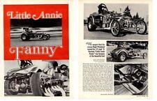 1932 BANTAM E/A DRAG RACING / HUGH WEDEKIND ~ ORIGINAL 2-PAGE ARTICLE