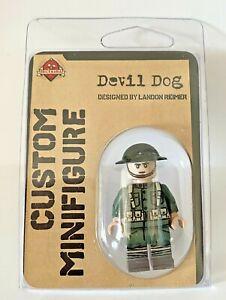 Brickmania Devil Dog Custom Marine Minifigure BMF448