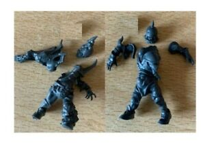 Nurgles rotters Blood Bowl Team - Nurgle Rotter x 2 undead chaos with bases