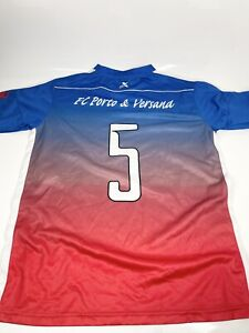 Pro Medium Blue Training T-Shirt Top FC Porto Running Gym Fit (1317 D1)