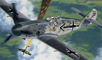 ITALERI 053 Aereo modello militare Messerschmitt Bf-10 F2/4 kit montaggio 1:72