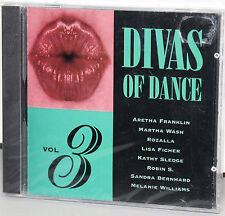 DCC CD DZS-123: Divas Of Dance, Volume 3 - Various Artists - 1996 OOP USA SEALED