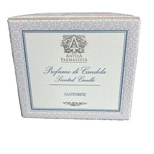Antica Farmacista Santorini Scented Candle NWT 9 oz / 255 grams White Original