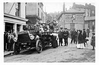 pt4884 - Folkestone Motor Coach , Kent - photograph 6x4