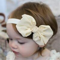 10PCS Girl Newborn Baby Toddler Infant Flower Headband Hair Bow  bands headwear