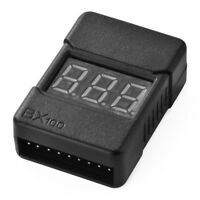Indicator Checker Tester Low Voltage Buzzer Alarm for 1-8S LiPo Battery RC374