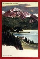 Künstler AK Verlag Killinger Zürich um 1900 Berggesicht von Fritz Haas ( 65929