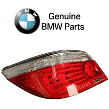 BMW E60 528i Driver Left Taillight Assy with White Clear Turn Signal Indicator