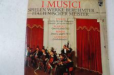 I Musici spielen Werke berühmter italienischer Meister Vivaldi Rossini (LP 13)