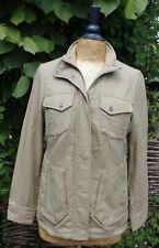 Nueva chaqueta para mujer Rohan asignación-Estilo Safari viaje Masilla Beige-Talla XS