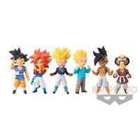 Dragon Ball GT World Collectable Figure WCF vol.2 All 6 type set Japan F/S NEW
