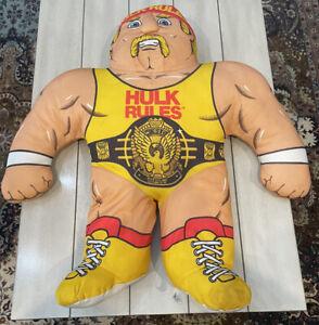 Vintage 1990 WWF Wrestling Buddies by Tonka: Hulk Hogan