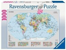 Ravensburger Political World Map 1000pc Jigsaw Puzzle