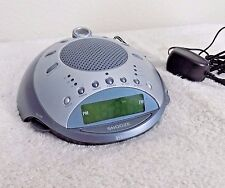 Homedics SS-4000 Sound Spa Projection Alarm Clock +6 Nature Sleep Soother Sounds