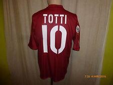"AS Rom Original Diadora Heim Trikot 2004/05 ""Mazda"" + Nr.10 Totti Gr.M- L TOP"