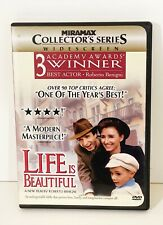 Life Is Beautiful Dvd 1999 Collectors Edition Series (Excellent Condition)