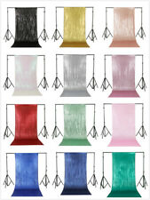 2FTx8FT Glitter Sequin Backdrop Curtain Wedding Party Photo Background Decor