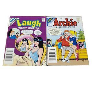 Vtg Archie Comic, Lot of 2, Archie 1995 No. 138, Laugh Digest 1996 No. 127 {G}