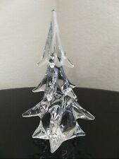"Mcm Antique ""Clichy"" France Signed 1900's handmade Glass Christmas Tree Decor 🎄"