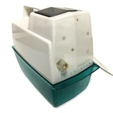Vintage Oster Snowflake Electric Counter Top Ice Crusher Model #551 Teal TESTED