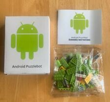 NEW! Google Alphabet Android Lego brick Puzzlebot Promotional Limited Edition