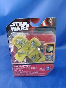 Star Wars Box Busters Rebels TIE Fighter Attack Spin Master Toy Set