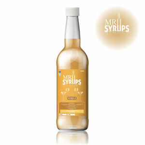 750ml Vanilla Flavour Drink Syrup - Flavouring for Drinks - Cocktail Syrup