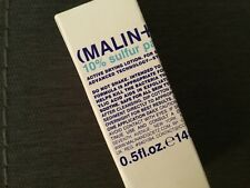 Malin + Goetz 10% Sulfur Paste Drying Lotion New in Box - Fresh .5 oz Full Size