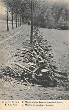 BR64839 marines in trenches at antwers belgium army military militaria england