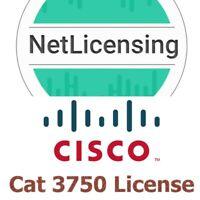 Cisco Catalyst 3750 License, Original and Permanent, E-Delivery