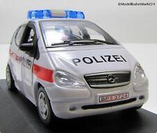 Modellauto Mercedes A Polizei 2001 Österreich Maßstab 1:43