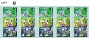 "WWF 2021  FINLAND EUROPA CEPT ""Endangered national wildlife""  BIRDS  BOOKLET MNH"
