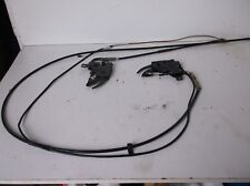BMW E36 Convertible Capucha Cubierta posterior bloquear los cables y pestillos
