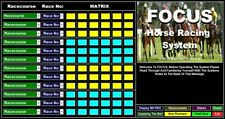 FOCUS Horse Racing System:15/4/19 To 8/9/19: 4,536 Winners Found
