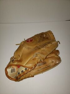 """Rawlings Super Size 14"""" Premium Leather Softball Glove RSGXL Right Handed Throw"""